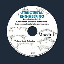 Structural Engineering – 3 Vintage e-Books Collection on 1 DATA DVD Masonry