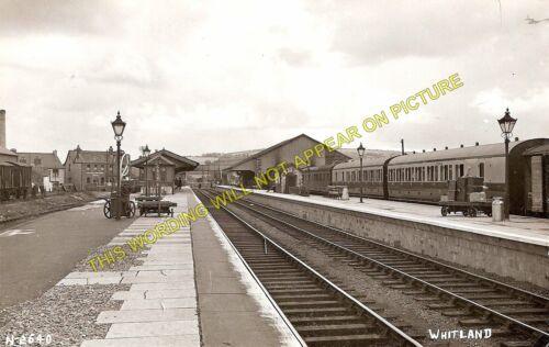 Carmarthen to Tenby 1 Cardigan Line. Whitland Railway Station Photo