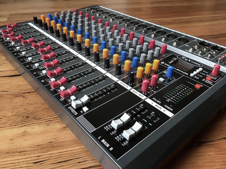 RoXonix CR-12 12-Channel Professional Studio Mixer