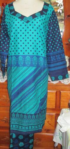 beautiful semi cotton salwar kameez size 46