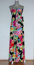 NEW(MY291) Lauren Ralph Lauren Fit-and-Flare Maxi Dress Floral Multi Sz M $165