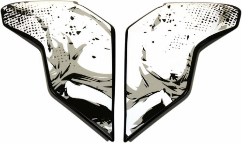 Icon MotoSports Replacement Side Plate for Skull 18 AirFlite Helmet Black