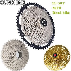 SUNSHINE-Cassettes-8-11-velocidades-11-50T-MTB-Carretera-Bicicleta-MTB-Rueda-Libre
