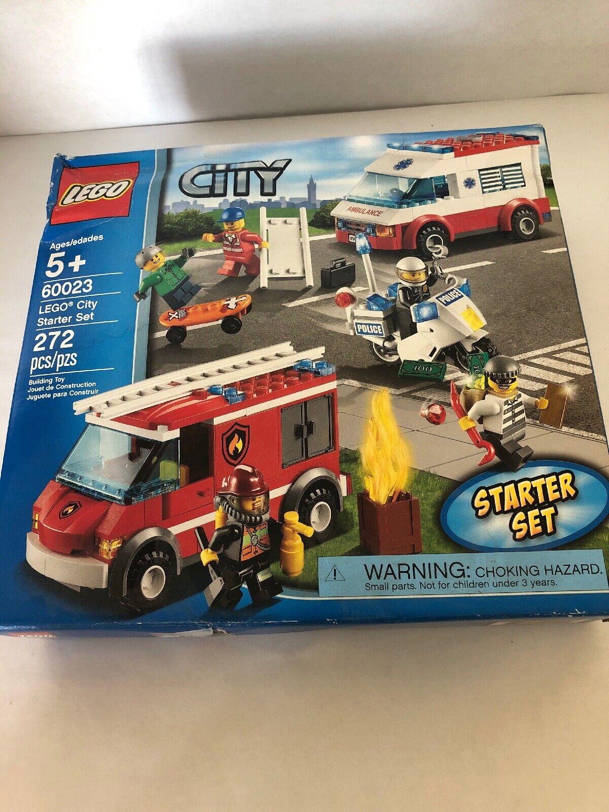 Toy Damaged City Starter New 60023 Set Lego Building Brand Aj4R35L