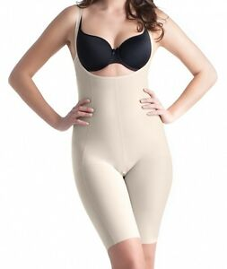 3e78d56462 Image is loading NEW-Full-Bodysuit-MEDIUM-Support-Open-Crotch-Seamless-