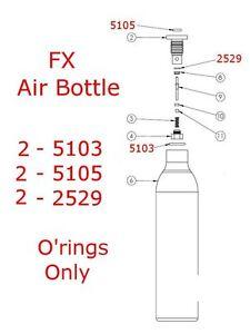 FX-Airbottle-O-039-ring-Kit