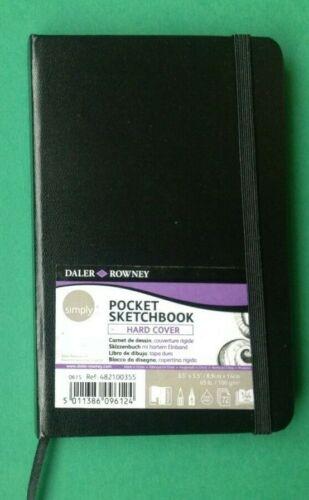 Daler-Rowney Simply Poche Sketchbook-couverture rigide