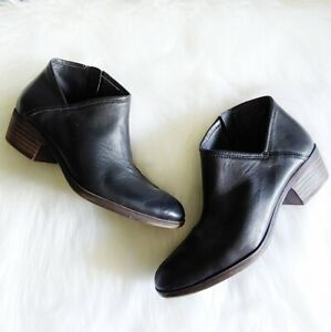 Lucky Brand Brekle Black Booties - Size