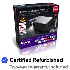 RCA Roku Smart Home Theater Projector 720p 16:9 w/ Roku Stick RPJ133