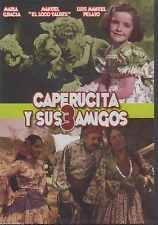 DVD - Caperucita Y Sus 3 Amigos NEW Con Maria Gracia FAST SHIPPING !