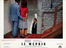 BRIGITTE BARDOT JEAN-LUC GODARD LE MEPRIS 1963 VINTAGE LOBBY CARD ORIGINAL #6
