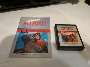 E-T-Atari-2600-Game-Cart-Manual-Tested-Works-Great
