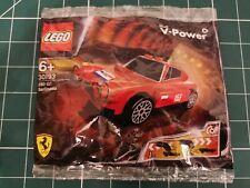 NEW//SEALED LEGO SHELL V POWER 250 GT BERLINETTA 30193 PULL BACK MOTION