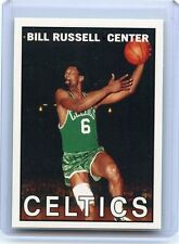 """2007-08 TOPPS #BR67 BILL RUSSELL """"THE MISSING YEARS 1967"""" BOSTON CELTICS, 062816"""