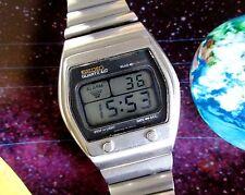 Seiko A031-5019 LCD batería extra de cuarzo Reloj para hombre Vintage Rara + Manual (PDF)