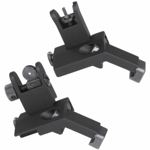 BUIS Flip UP 45 Degree Offset Rapid Transition Iron FRONT /& REAR Sights BUIS