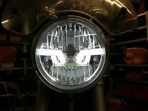 LED-Scheinwerfer-schwarz-BMW-R-850-R-R-1150-R-R1150R-R850R-clear-LED-headlight