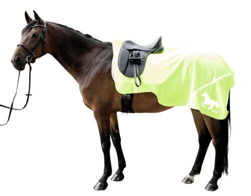 HKM équitation Fluorescent exercice Feuille 125 cm toutes les couleurs et tailles