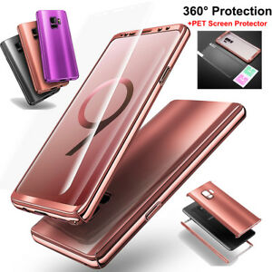 For-Samsung-Galaxy-S9-S9-Plus-Protective-Hard-Thin-Case-Cover-Screen-Protector