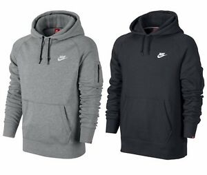 7849b215fa1b Men s New Nike Fleece Hoodie Hoody Hooded Sweatshirt Jumper Jacket ...