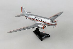 POSTAGE-STAMP-AMERICAN-AIRLINES-DC-3-034-TULSA-034-1-144-SCALE-DIECAST-METAL-MODEL