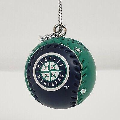 Seattle Mariners MLB Baseball Christmas Ornament, Ball ...