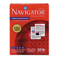 Navigator Premium Multipurpose Paper 97 Brightness 20lb 8-1/2x11 White 5000 on sale