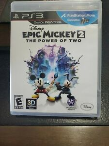 Disney Epic Mickey 2: The Power of Two, (PS3) Complete ...