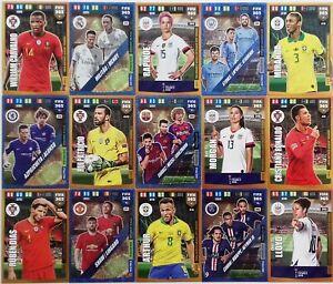 PANINI-Adrenalyn-XL-FIFA-365-2020-GOLD-DYNAMIC-DUO-POWER-TRIO-Cards