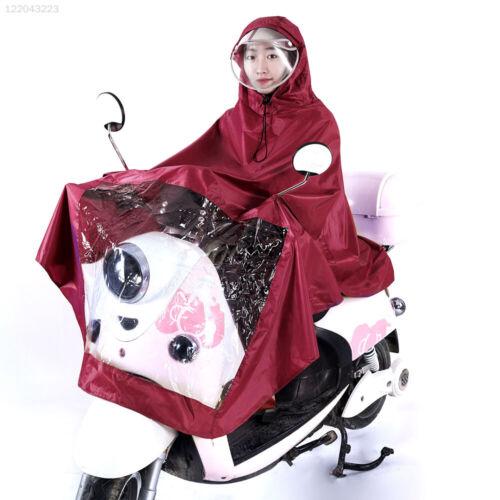 9467 Wind Poncho Tragbar Radfahren Unisex Motorrad-Regenmantel Scooter Oxford