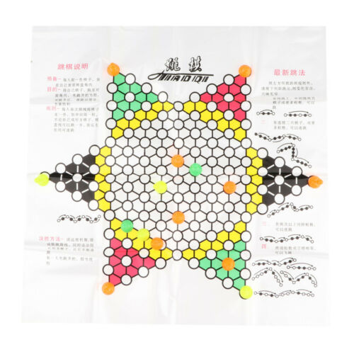 Classic Game Collection Chinese Checkers and Traditional Checkers Hobby Toys
