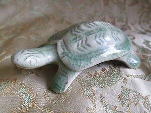 Vintage Antique Ceramic Turtle