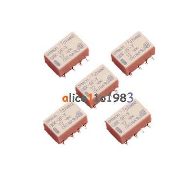 5PCS SMD G6K-2F-Y Signal Relay 8PIN for Omron Relay DC 3V 5V 12V 24V