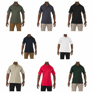 5.11 Men's Performance Polo Short Sleeve Tactical Shirt, Style 71049 Size XS-6XL