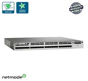 Cisco-WS-C3850-24XS-S-IP-Base-Switch-24-SFP-Ethernet-Ports-715WAC-PWR