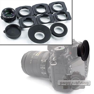 1.08x-1.60x Zoom viewfinder eyepiece magnifier For Canon EOS 600D 550D 60D 7D 5D