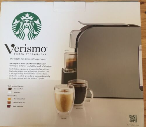 Starbucks Verismo K-FEE 580 SILVER Single Cup Coffee Espresso Maker