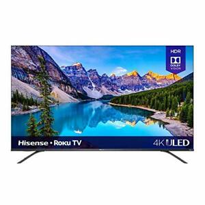 Hisense 65-Inch Class R8 Series Dolby Vision & Atmos 4K ULED Roku Smart TV with
