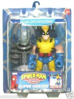 Spiderman & Friends Claw Catch Wolverine 6 Figure