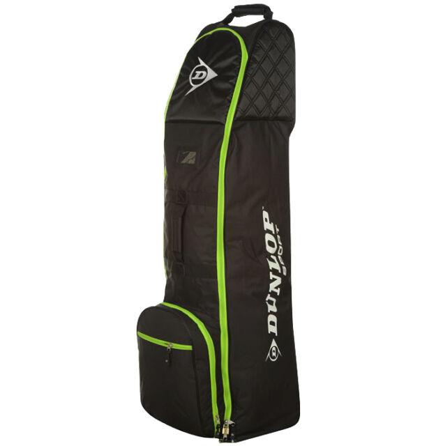 Dunlop Deluxe Golf Reisetasche mit Rollen Travel Golfbag Reise Tasche Golftasche
