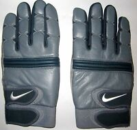 Pair Of Nike Tack Ii Linesman's Leather Football Gloves Size Xxxl