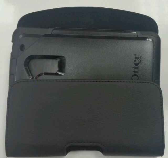 info for 241db bf0a1 for Moto Droid Turbo Leather Belt Clip Holster Fit an OtterBox Defender  Case on