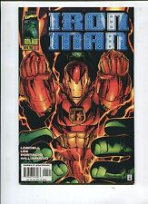 IRON MAN #1 - HEART OF THE MATTER! STORY BY SCOTT LOBDELL & JIM LEE! - (9.2)