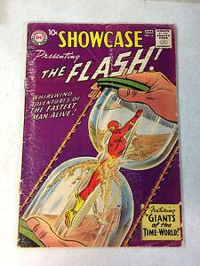SHOWCASE-14-KEY-ISSUE-4TH-SILVER-AGE-FLASH-TIME-WORLD-1958-DR-ALCHEMY