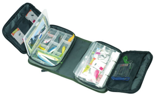 Behr Vorfachtasche Ködertasche Angeltasche mit Zubehörbox Anglertasche