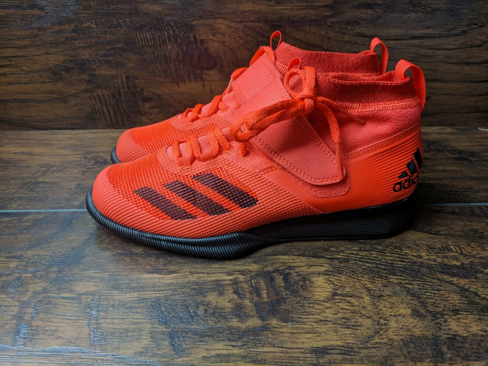 Brand New Adidas Crazy Power RK Men's Size 6.5 Weightlifting shoes Red Black