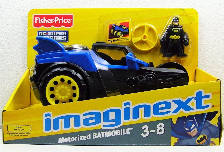 Fisher-Price Imaginext Motorized Batmobile Batman Car 3-8 years DC Super Friends