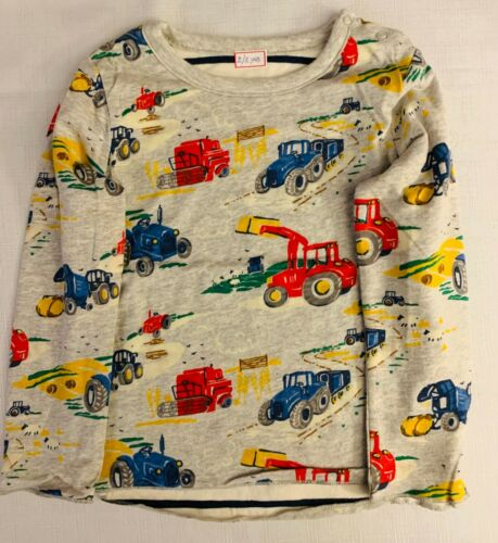 Baby Boden BESTSELLER Tractor Reversible Tops Super Soft! 0-4Yrs