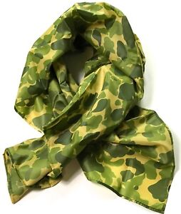 WWII-US-AIRBORNE-PARATROOPER-D-DAY-JUMP-CAMO-SCARF-SMALL