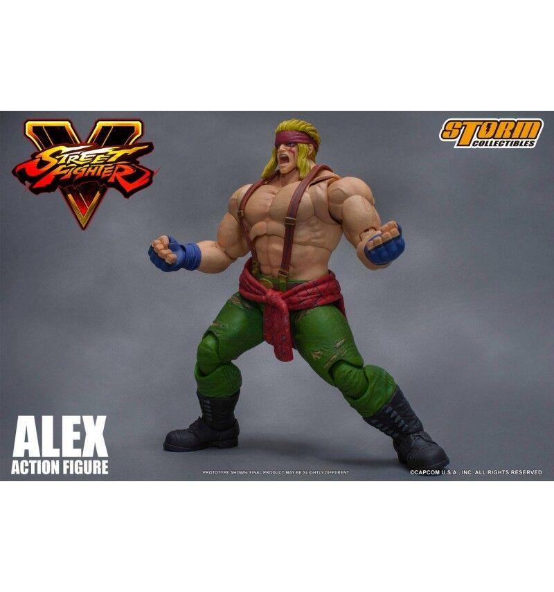 Storm Collectibles - Street Kämpfer-v - Alex 1 12  | Verschiedene Arten und Stile